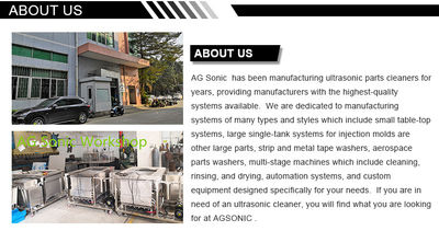 AG SONIC TECHNOLOGY LIMITED 공장 생산 라인